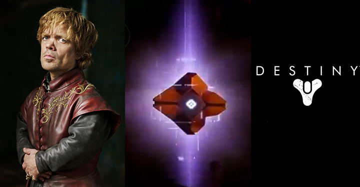 Tyrion Lannister is the voice of Destiny