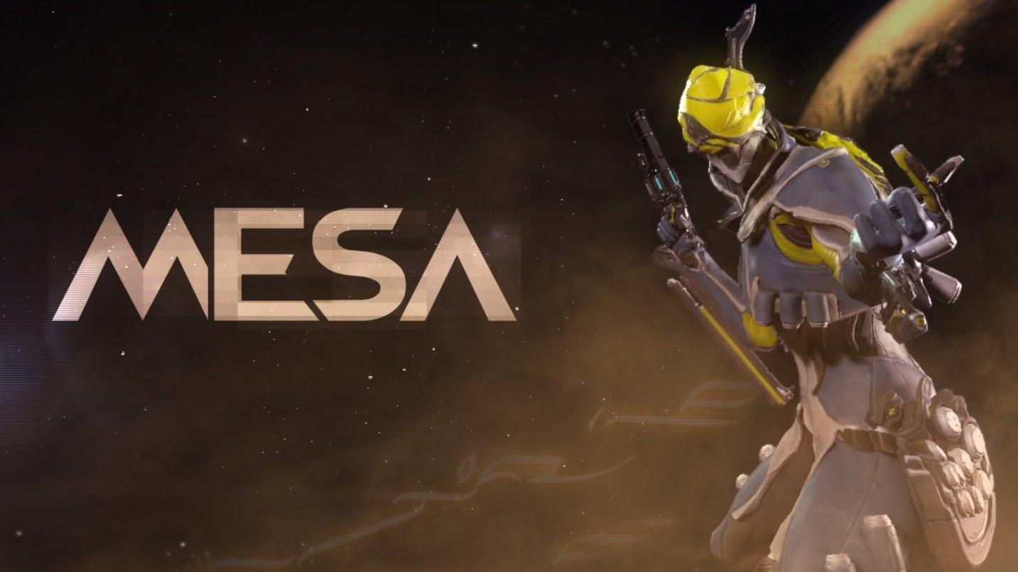 Warframe Mesa Trailer