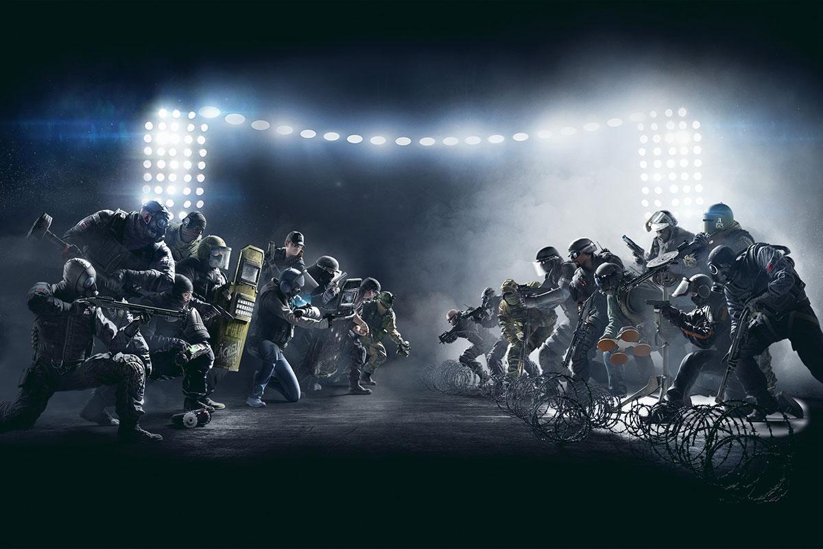 Rainbow Six – Siege Tournament 3vs3 2017 [photos]